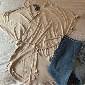 Armani Exchange Shirt Wrap